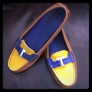 Tory Burch Casey driver leather loafer! Authentic!